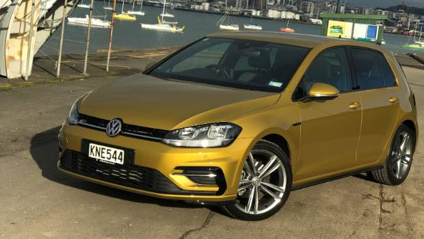 Volkswagen Golf R-Line is still the gold standard for small hatchbacks