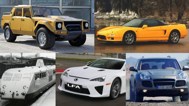 Five cars we never expected their companies to create