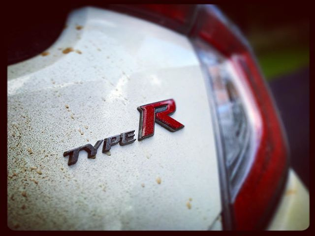 I wasn't initially convinced, but after a quick and dirty blast I am in love… #Honda #Civic #TypeR