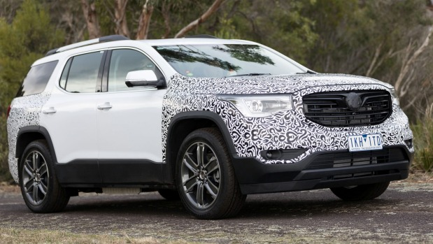 We've had an early play in the Holden Acadia SUV