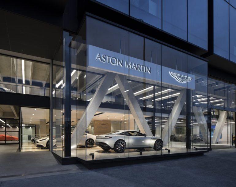 Aston Martin's new high-tech Auckland home