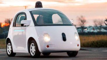 The five levels of autonomous driving