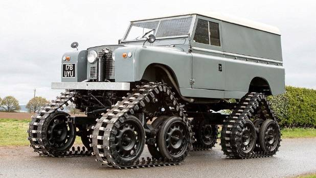 Five strange facts about Land Rover
