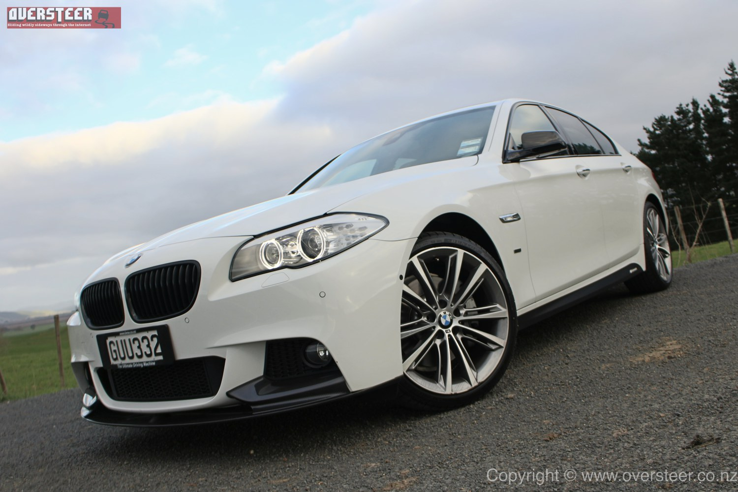 Road Test Bmw 530d Performance Edition Oversteer